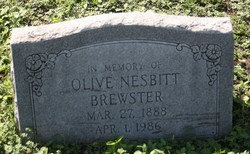 Olive <i>Nesbitt</i> Brewster