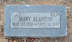 Mary Alice <i>Holt</i> Blanton