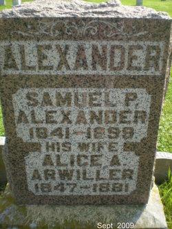 Alice A. <i>Arwiller</i> Alexander