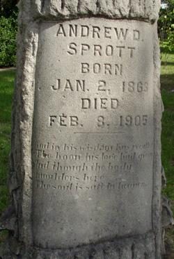 Andrew D Sprott