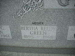 Bertha <i>Reedy</i> Green
