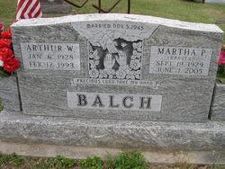 Martha Phayon <i>Harvey</i> Balch