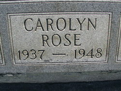 Carolyn Rose Brown