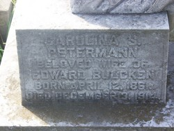 Carolina S. <i>Petermann</i> Bulcken
