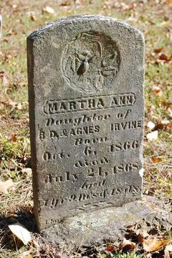 Martha Ann Irvine