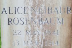 Alice Breakell <i>Neibaur</i> Rosenbaum
