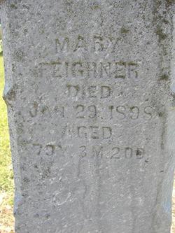 Mary <i>Klingerman</i> Feighner