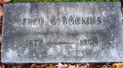 Frederick Graham Fred Bockius