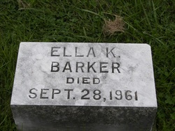 Ella K Barker