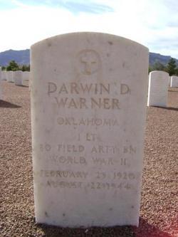 Lieut Darwin Doyle Warner