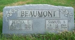 Bertha E. <i>Ray</i> Beaumont