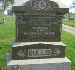 Elizabeth Barbara <i>McNutt</i> Bullis