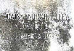 Daisy Agnes <i>Burch</i> Alley