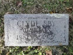Clyde Eby Walton