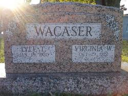Virginia <i>Wright</i> Wacaser