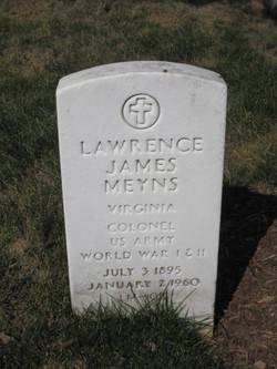 Col Lawrence James Meyns