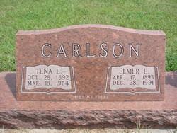 Elmer E Carlson