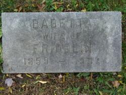 Babetta <i>Trapp</i> Alffermann