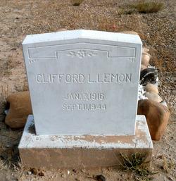 Clifford LeRoy Lemon