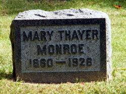 Mary <i>Thayer</i> Monroe