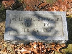 Willie Jackson Adams
