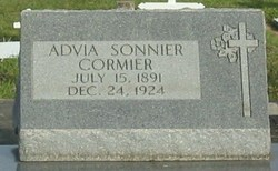 Advia <i>Sonnier</i> Cormier