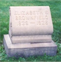 Elizabeth <i>Sackett</i> Brownfield