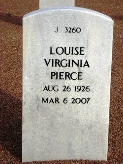 Mrs Louise Virginia Pierce