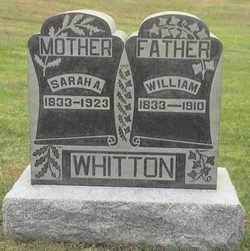 Sarah Ann <i>Gilliland</i> Whitton