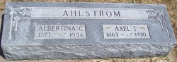Axel T Ahlstrom