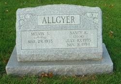 Nancy K. <i>Zook</i> Allgyer