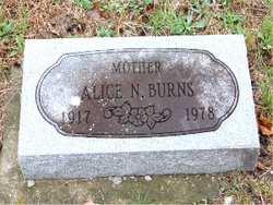 Alice N Burns