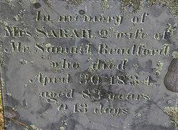 Sarah <i>Fuller</i> Bradford