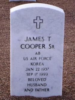 James T Cooper, Sr