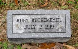 Ruby Rose Beckemeyer