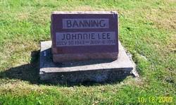 Johnnie Lee Banning