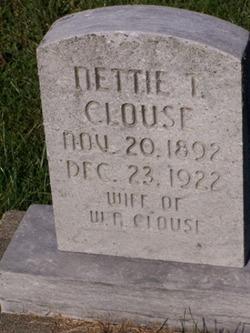 Nettie <i>Tingley</i> Clouse
