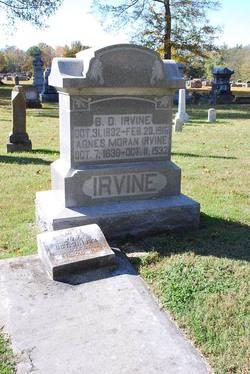 Agnes <i>Moran</i> Irvine