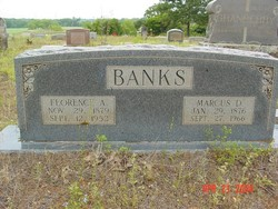 Florence Abrigail <i>Moxley</i> Banks
