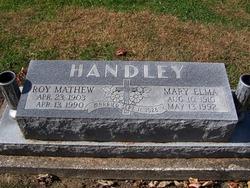 Mary Elma <i>Lientz</i> Handley