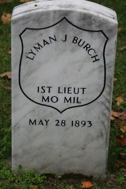 Lieut Lyman J Burch