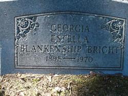 Georgia Estella <i>Blankenship</i> Bright