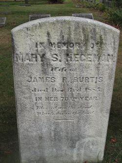 Mary Smith <i>Hegeman</i> Burtis