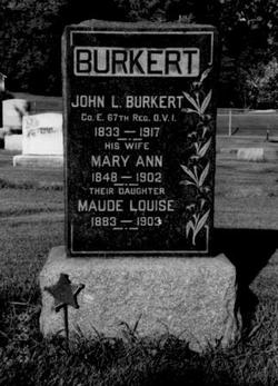 Mary Ann <i>Gehring</i> Burkert