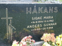 Signe Maria <i>Eriksson</i> H�kans