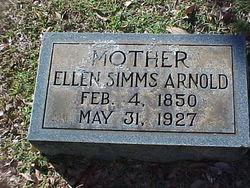Ellen <i>Simms</i> Arnold