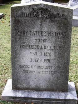 Mary Catherine <i>Long</i> Belch