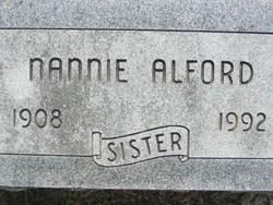 Nannie Alford