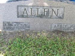 Abbie E. <i>Stewart</i> Allen