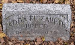 Adda Elizabeth <i>Filkins</i> Breed